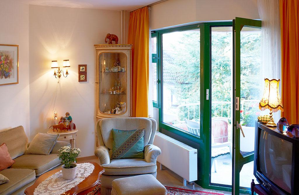 Einzelzimmer-Seniorenheim